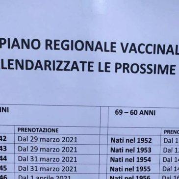 Attenzione: fake news sul piano vaccinale regionale agli over 60 e 70