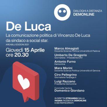 """Presentazione del libro: """"De Luca, da Sindaco a Social Star"""""""