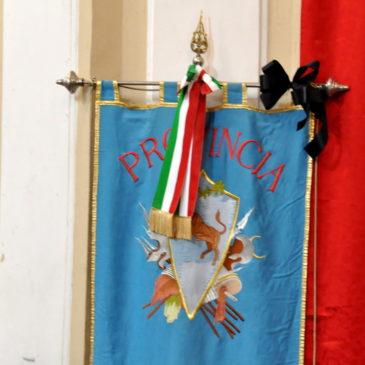 Provincia, il Presidente Di Maria ha reso omaggio al feretro del suo predecessore