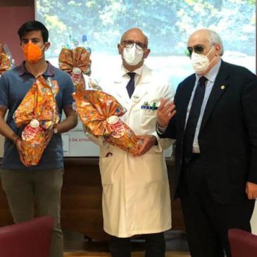 Associazione ORME: 50 uova al reparto pediatria dell'ospedale San Pio