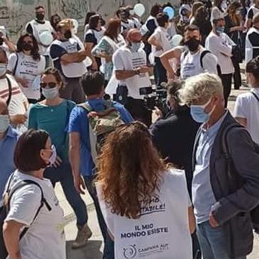 Manifestazione regionale in difesa delle terapie A.B.A. per le persone con autismo