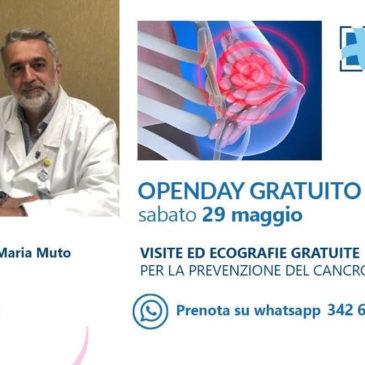 Cancro al seno, open day sabato al centro Hermes di Casagiove