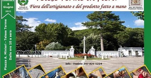 Telese Terme: il 5 e il 6 giugno la Mostra Mercato dell'Artigianato