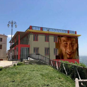 Immagini dal Sannio: il Teatro del Loto di Ferrazzano, borgo d'eccellenza e belvedere artistico del Molise