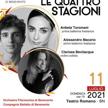 Benevento: terzo concerto del cartellone 2021 dell'OFB