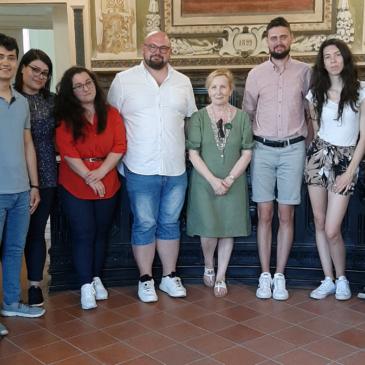 Sant'Agata de' Goti: A palazzo San Francesco gli studenti di Erasmus+ programma europeo