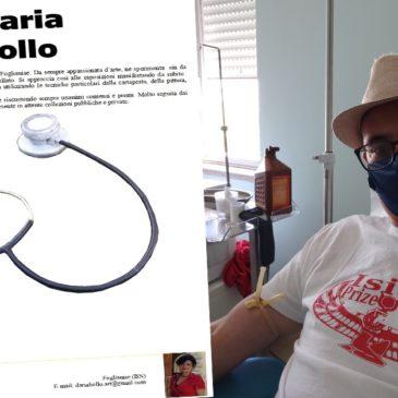 Donata opera gigante dell'artista Daria Bollo all'Ospedale San Pio di Benevento