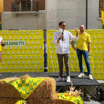 Emergenza cinghiali, Mortaruolo interviene al flash mob di Coldiretti Benevento