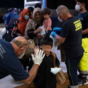 La Regione Campania ha accolto venti famiglie afgane