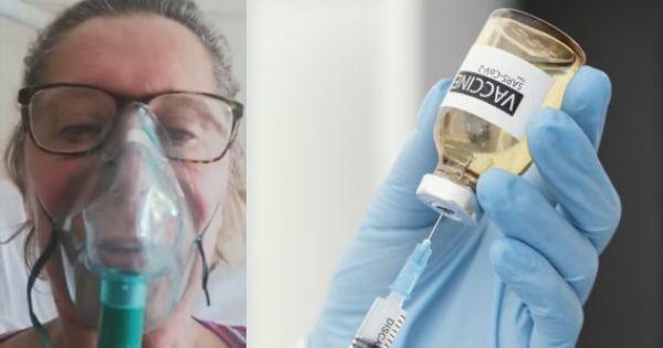 """No vax ricoverata per covid in gravi condizioni: """"Vaccinatevi, ho fatto una sciocchezza"""""""