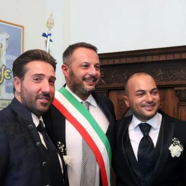 Celebrata la prima unione civile del Comune di Telese Terme