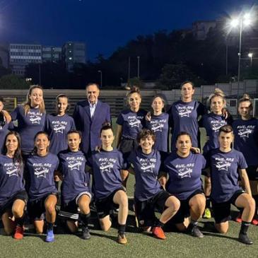 Calcio femminile, al via la stagione della Star Games Benevento Woman