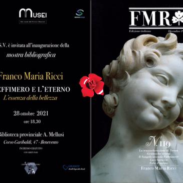 Biblioteca Provinciale: inaugurazione della mostra dedicata a Franco Maria Ricci