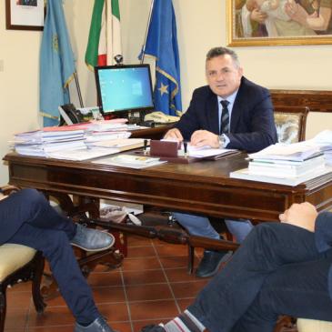 Provincia di Benevento: incontro Di Maria con gli amministratori di Pietrelcina